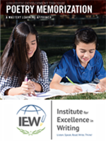 Homeschool Curriculum - IEW Poetry Memorization