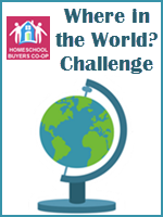 Homeschool Curriculum - Where in the World? Challenge