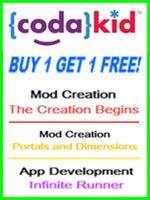 CodaKid Buy 1 Get 1 Free