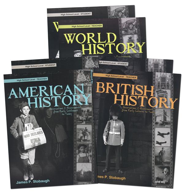 High School History 3 Year Curriculum Series: Teacher & Student