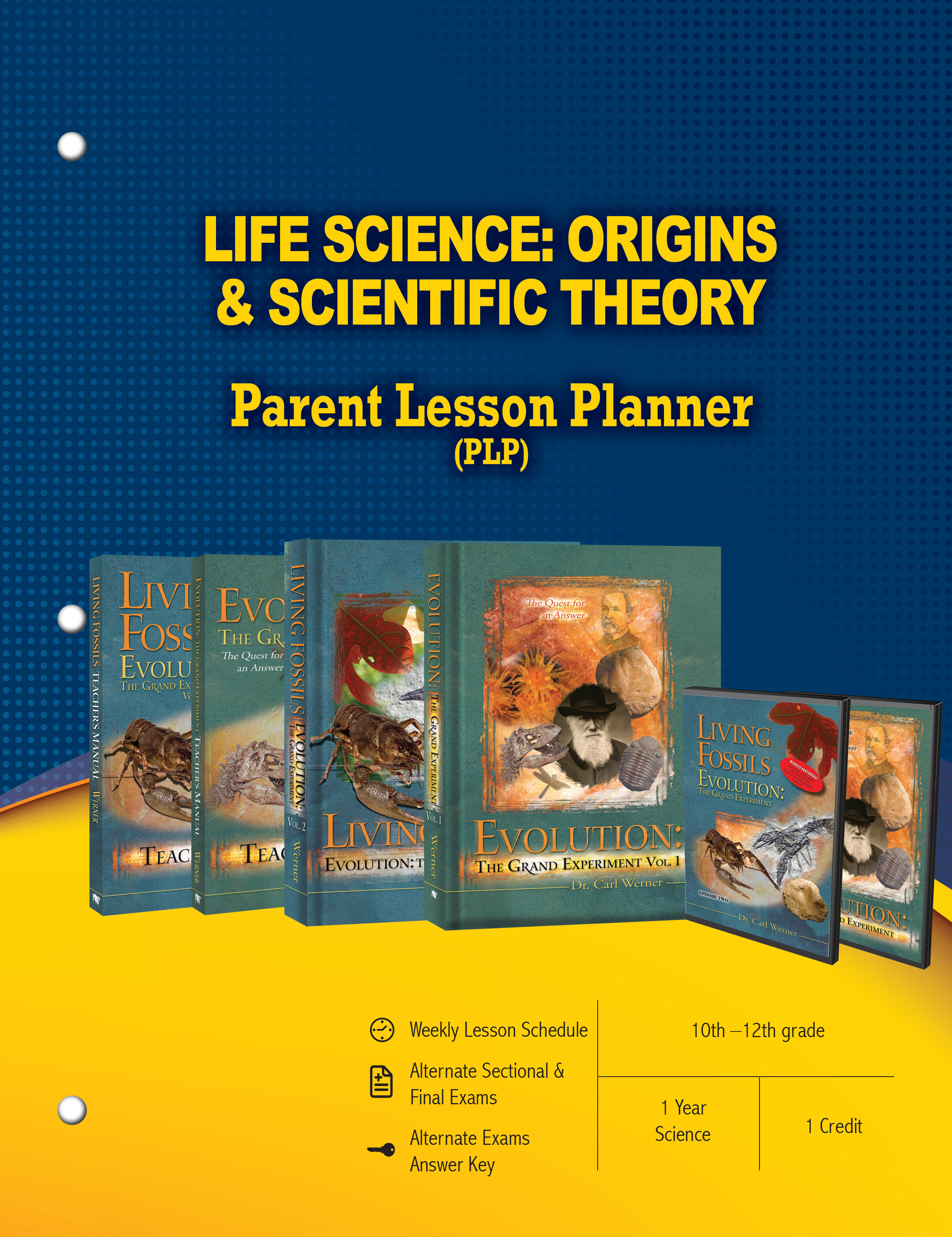 Life Science Origins & Scientific Theory Package