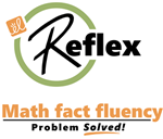 Image result for reflex math logo