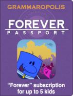 Grammaropolis - Save 50% on Forever Passport