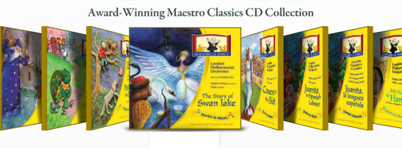 Add beauty to your homeschool curriculum with Maestro Classics.