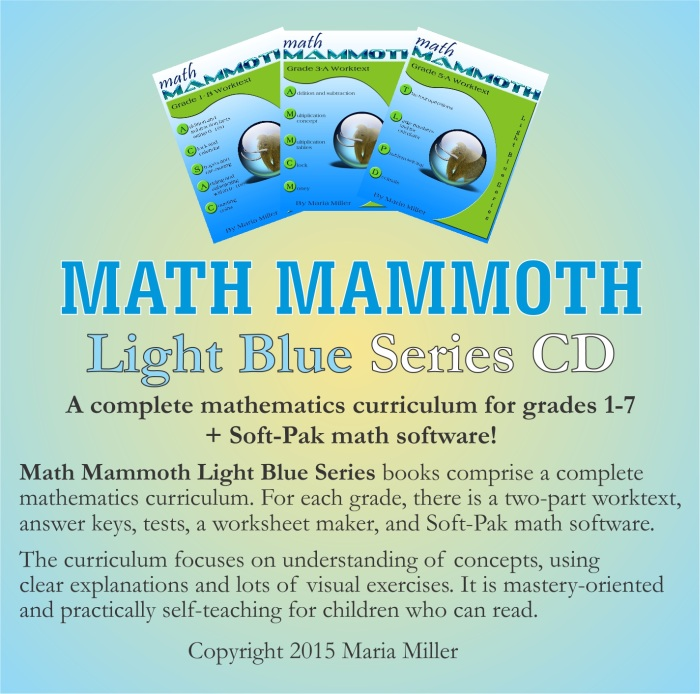 Math Mammoth - 40% Sale - Save 40% for Homeschoolers