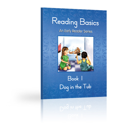Reading Basics Book 1, Dog in the Tub
