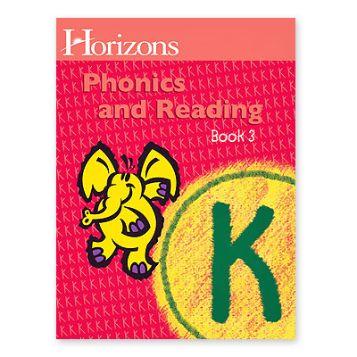 Horizons Kindergarten Phonics & Reading Bk 3