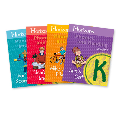 Horizons K Reader set