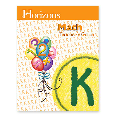 Horizons Math Kindergarten Teacher