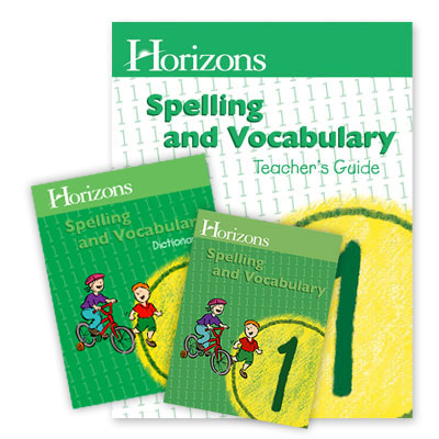 Grade 1 Spelling and Vocabulary Complete Set