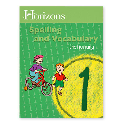 Grade 1 Spelling Dictionary