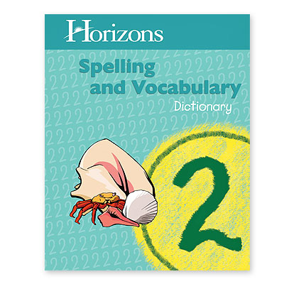 Grade 2 Spelling Dictionary