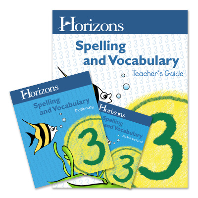 Grade 3 Spelling & Vocabulary Complete Set