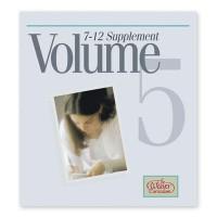 Supplement, Volume 5