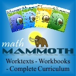 Homeschool Curriculum - Math Mammoth - 40% Sale