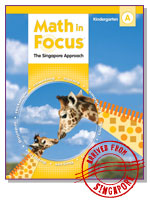 Math in Focus: Student Pack  Grade K