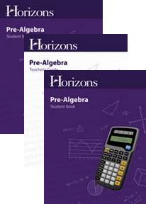 Horizons Pre-Algebra Complete Set