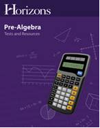 Pre-Algebra Tests & Resourcebook