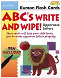 ABCs Uppercase Write and Wipe Flash Cards