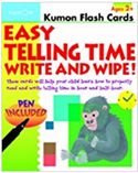 Easy Telling Time: Write and Wipe!