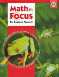 Math in Focus: Student Pack  Grade 2