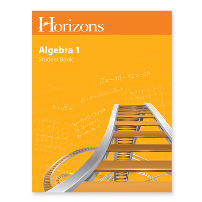 Algebra 1 Student Student Book