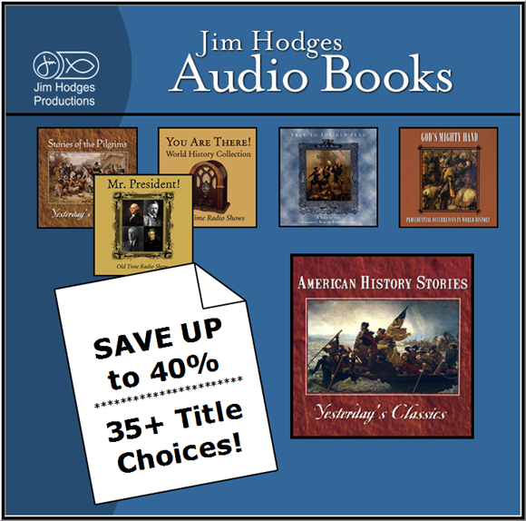 Jim Hodges Audio Books - 5 Pack