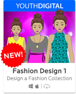 Homeschool Curriculum - Fashion Design 1