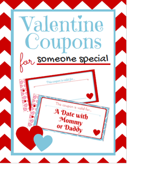 FREE Do-it-Yourself Valentine Coupon Book