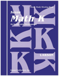 Saxon Math K Homeschool Complete Kit