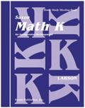 Saxon Math K Homeschool Complete Kit
