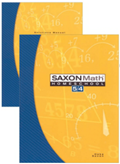 Saxon Math 5/4 Homeschool Complete Kit 3rd Edition