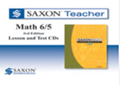 Saxon Math 6/5 Homeschool Saxon Teacher CD-ROM 3rd Edition