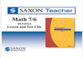 Saxon Math 7/6 Homeschool Saxon Teacher CD-ROM 4th Edition