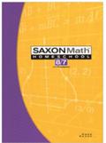 Saxon Math 8/7 Homeschool Complete Kit 3rd Edition
