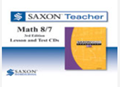 Saxon Math 8/7 Homeschool Saxon Teacher CD-ROM 3rd Edition