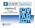 Saxon Algebra 1/2 Homeschool Saxon Teacher CD-ROM 3rd Edition 2010