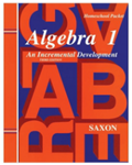 Saxon Algebra 1 Homeschool Kit Third Edition