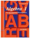 Saxon Algebra 1 Homeschool Kit Third Edition