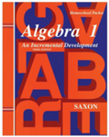 Saxon Algebra 1 Homeschool Kit w/Solutions Manual Third Edition