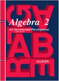Saxon Algebra 2 Homeschool Kit Third Edition