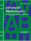 Saxon Advanced Math Homeschool Teacher CD-ROM Second Edition 2008