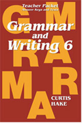Grammar and Writing Homeschool Kit Grade 6 2nd Edition
