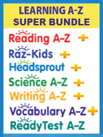 Homeschool Curriculum - Learning A-Z Super Bundle