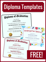 Homeschool Curriculum - Homeschool Diploma Templates