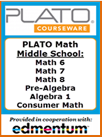 Homeschool Curriculum - PLATO Math - Middle School