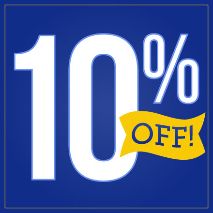 10% Off Your First Month
