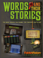 Homeschool Curriculum - Words and Their Stories