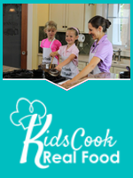 Homeschool Curriculum - Kids Cook Real Food
