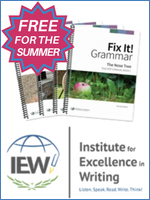 Homeschool Curriculum - IEW Free for Summer